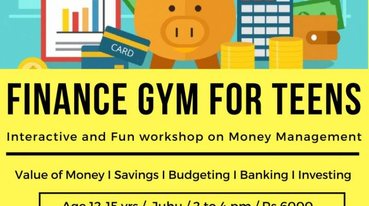 Finance GYM for Teens! 18-22nd June